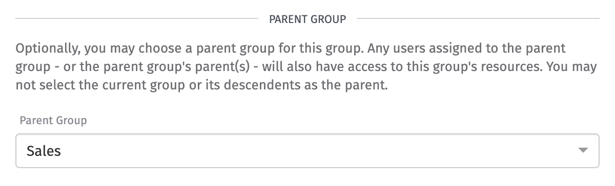 Parent Group