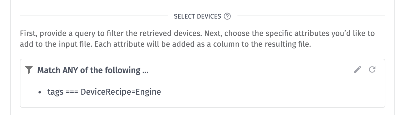 Device Data Device Query